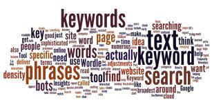 keywords collage
