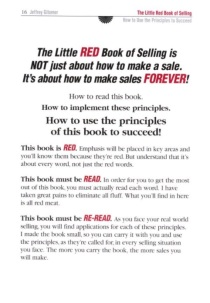 page from gitomer little red