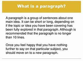 paragraphs Pict 1