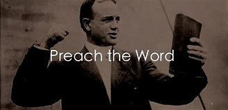 billy Sunday preach