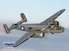 B-25 airplane