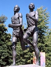 Bannister_and_Landy statue Vancouver