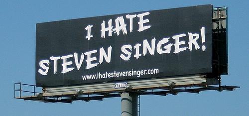 I hate steven singer 1