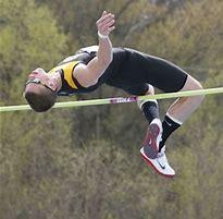 running high jump