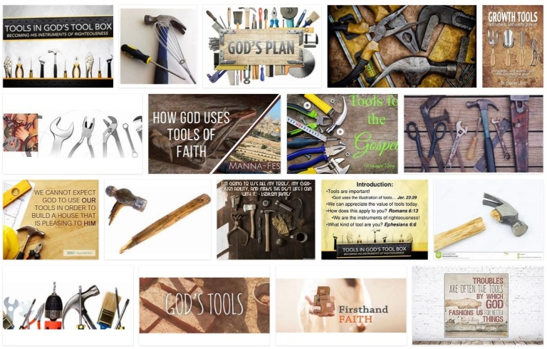 God's tools pict