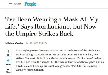 ron luciano mask people mag