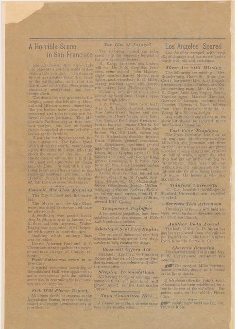 San Fran Newspaper pg 2