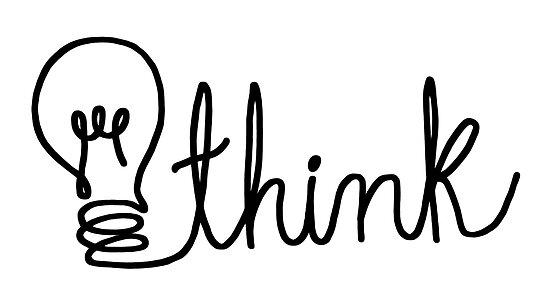 think bulb word