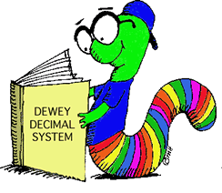 reading outside of your field dewey decimal worm